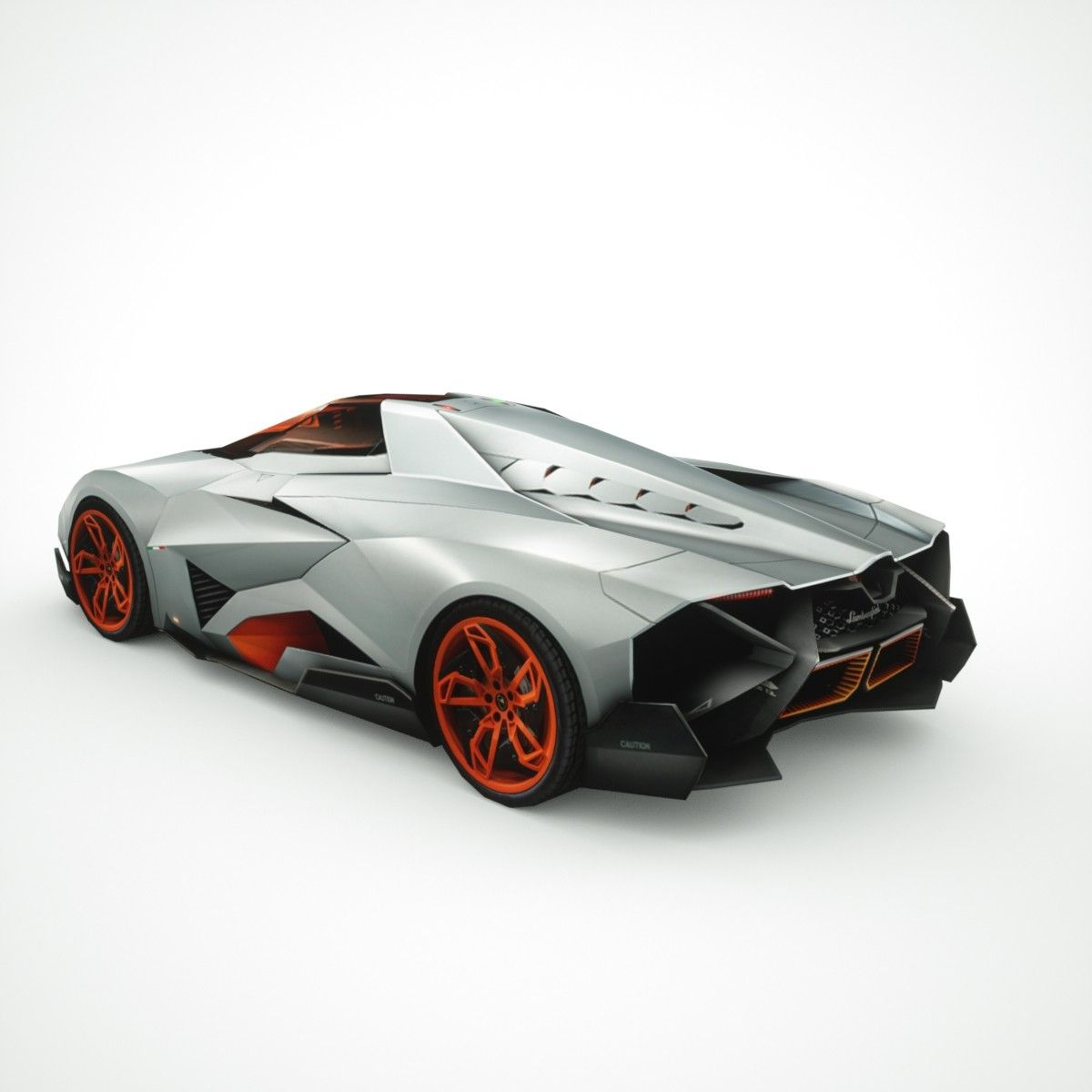 Lamborghini Egoista Concept Car Black: 3d Lamborghini Egoista Model - LGMSports.com