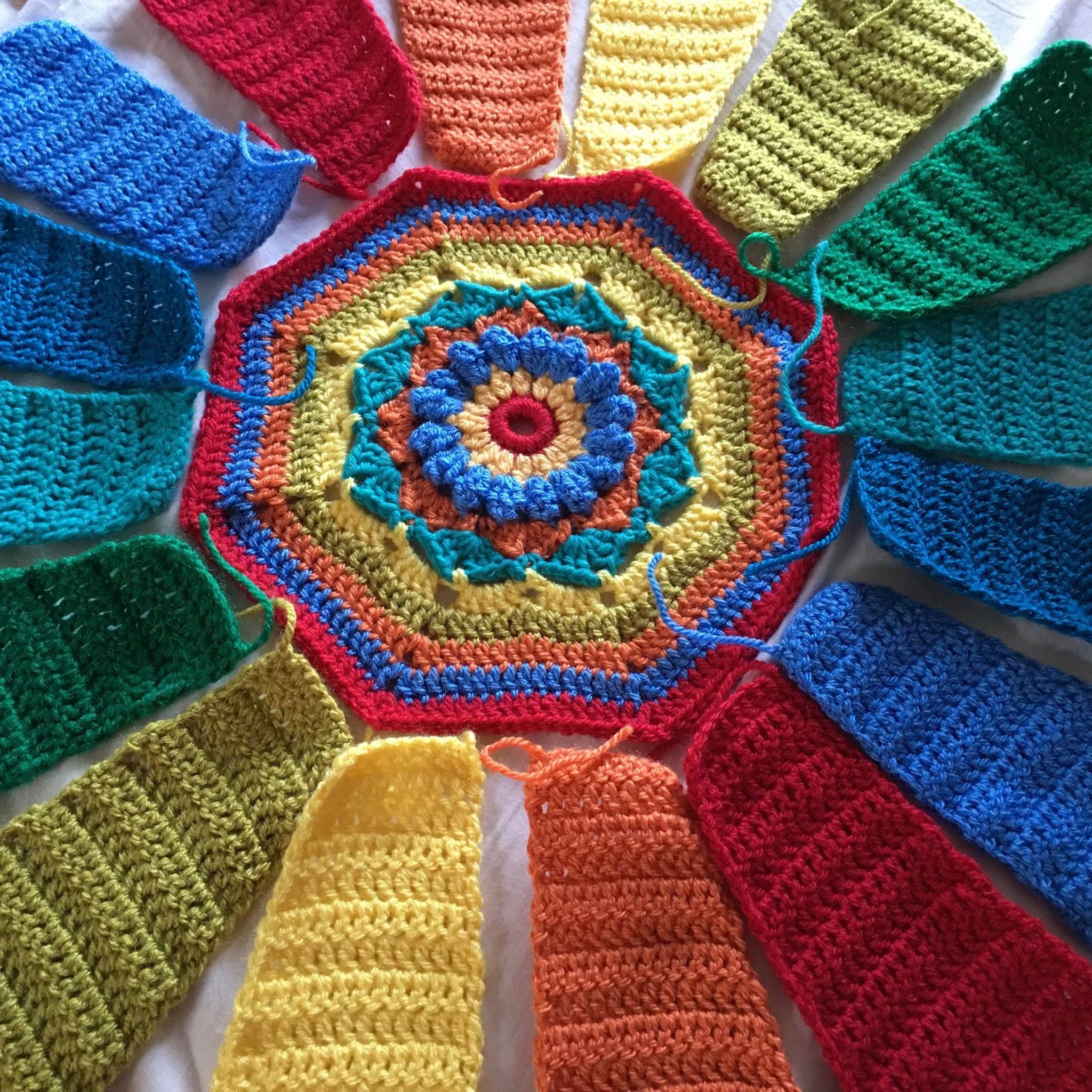 Pin de gloria elena en muestras crochet   Pinterest   Mandalas ...