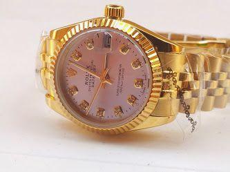 رولكس ذهبيه ضد الخدش والماء ب 350 ريال فقط Gold Watch Accessories Gold