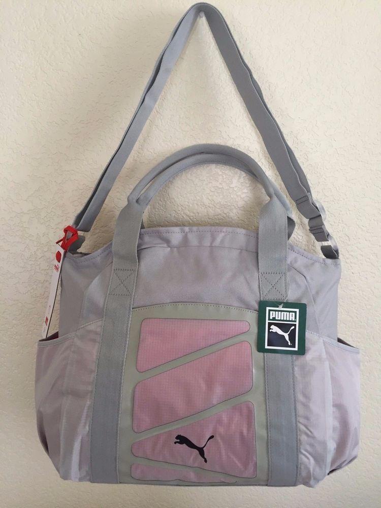 d766b76652 PUMA Alexia Tote Grey Women Bag 100% Polyester Laptop sleeve 14