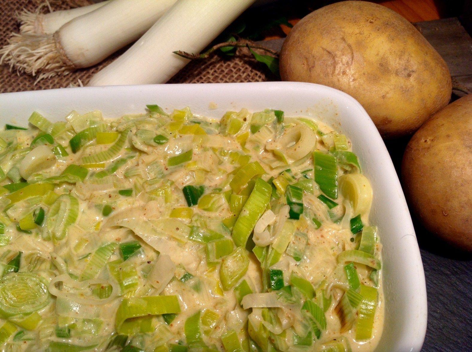 Kartoffel Porree Auflauf - Aus meinem Kuchen und Tortenblog