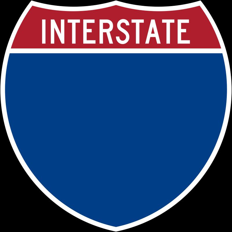 Interstate Interstate Interstate Highway Road Signs