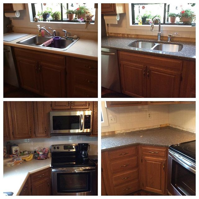 Over Time Most Laminate Countertops Can Literally Come Apart At