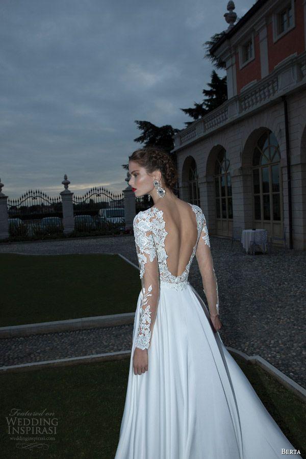 Berta Bridal Winter 2014 — Long Sleeve Wedding Dresses | Berta ...