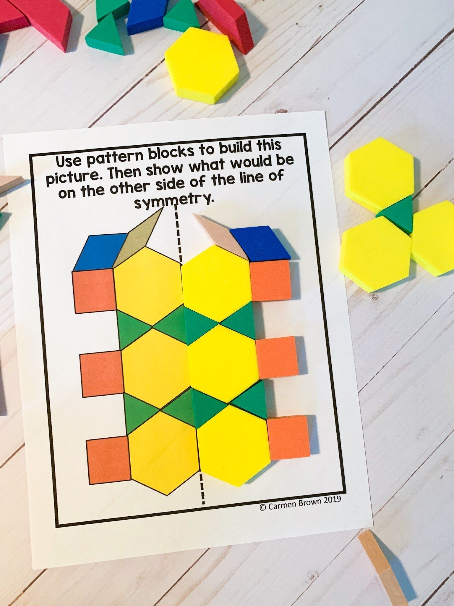 Symmetry Activities To Engage Learners