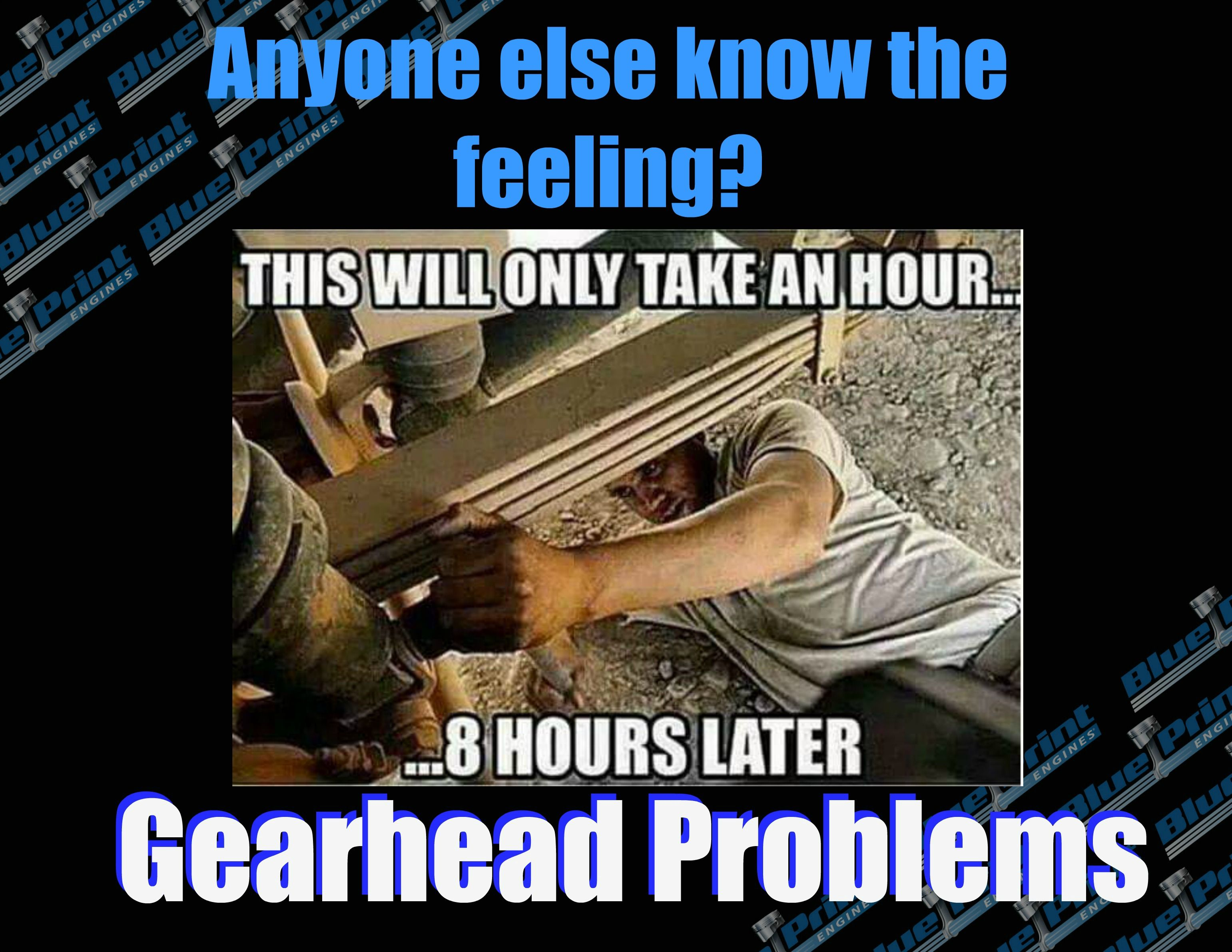 Yep we all know the feeling those day projects turn into for more information about our full line of engines cylinder heads and parts offered call blueprint engines to speak malvernweather Images