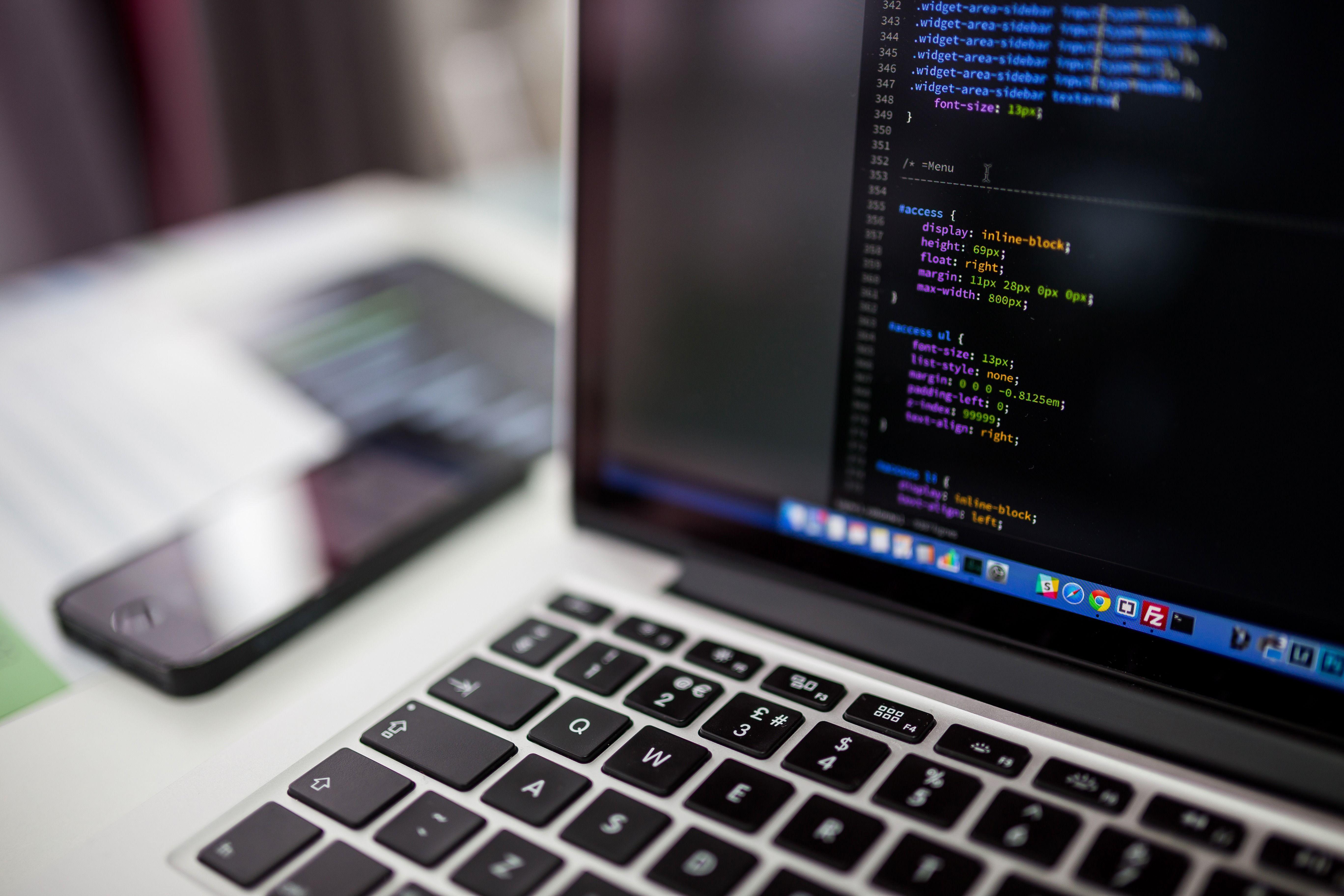 Code Coding Laptop Macbook Programing Codes Internet Web Development Design Web Development Company Learn Web Design