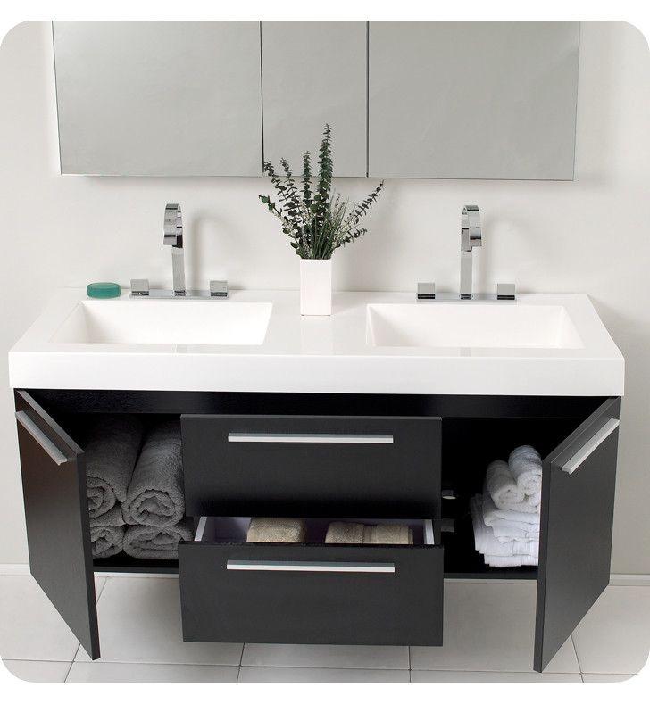 Double Bathroom Vanity Set The 40 Inches Wide Kokols Modern Reviews