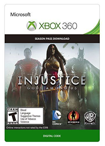 Injustice Gods Among Us Season Pass Xbox 360 Digital Code To Watch Additionally For This Item Go To The Image Web Link Th Xbox 360 Video Game Shop Xbox