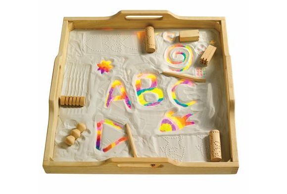 sand box for writing