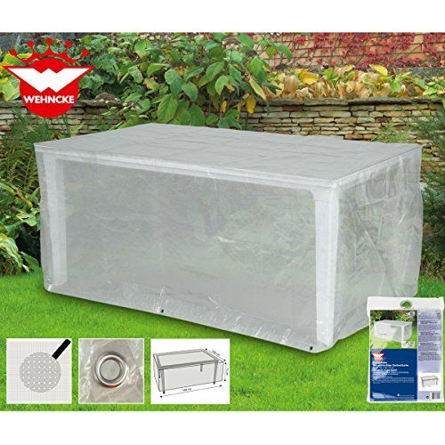 Schutzhülle Für Rechteckigen Gartentisch Ca. 180 X 100 X 75cm, PE Gewebe,