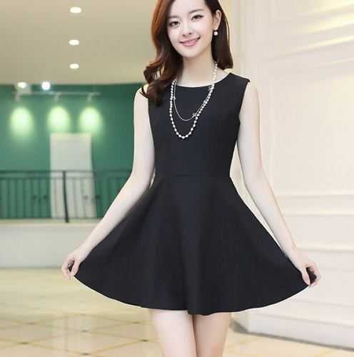 2508208e43 Vestidos japoneses elegantes - Imagui Vestidos Negros Cortos