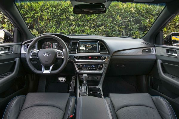 2018 Hyundai Sonata Is The Featured Model Interior Image Added In Car Pictures Category By Author On Oct 30 2017
