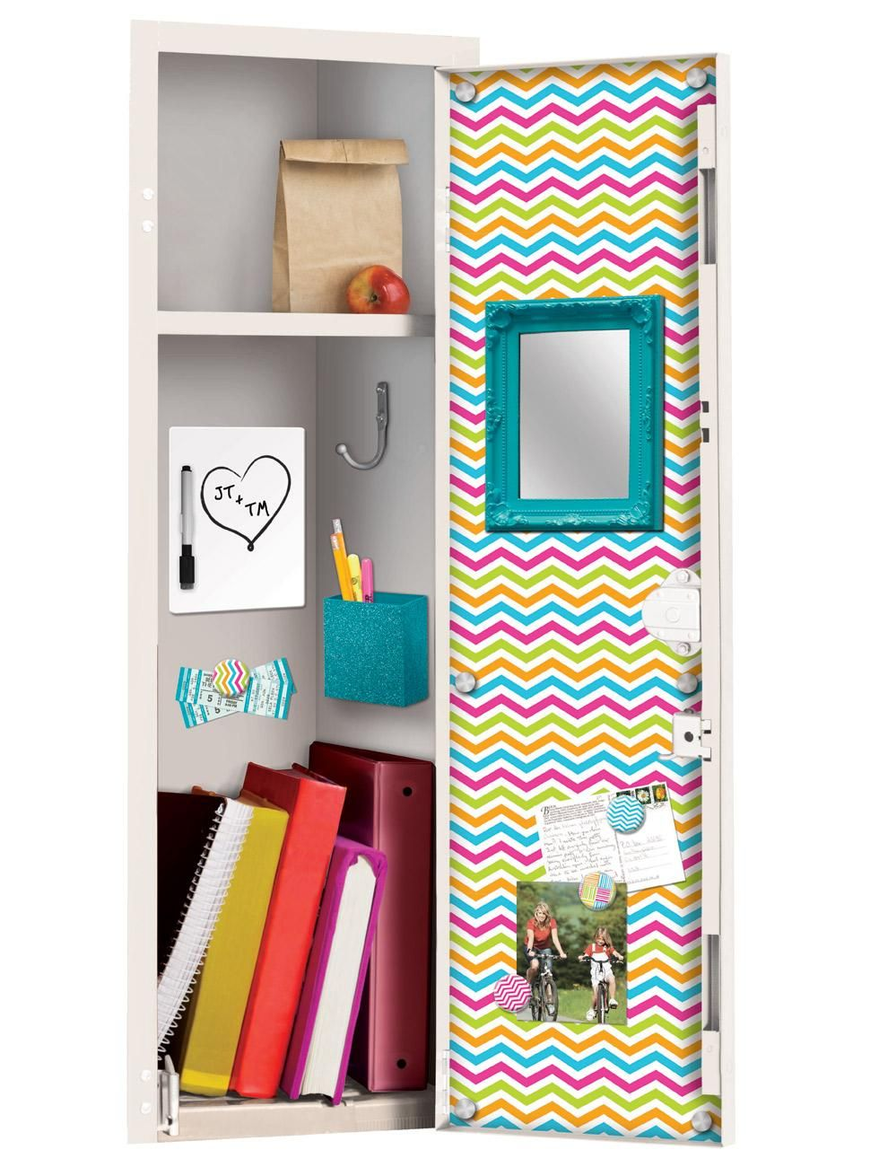 Locker Decoration Ideas locker accessories, locker shelves & locker decorations | pbteen