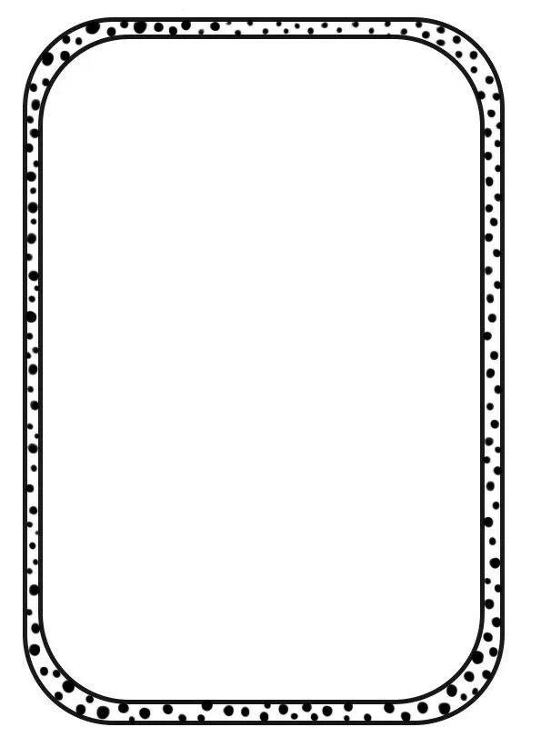 Bordure pour mise en page | Journal - Borders | Page frames