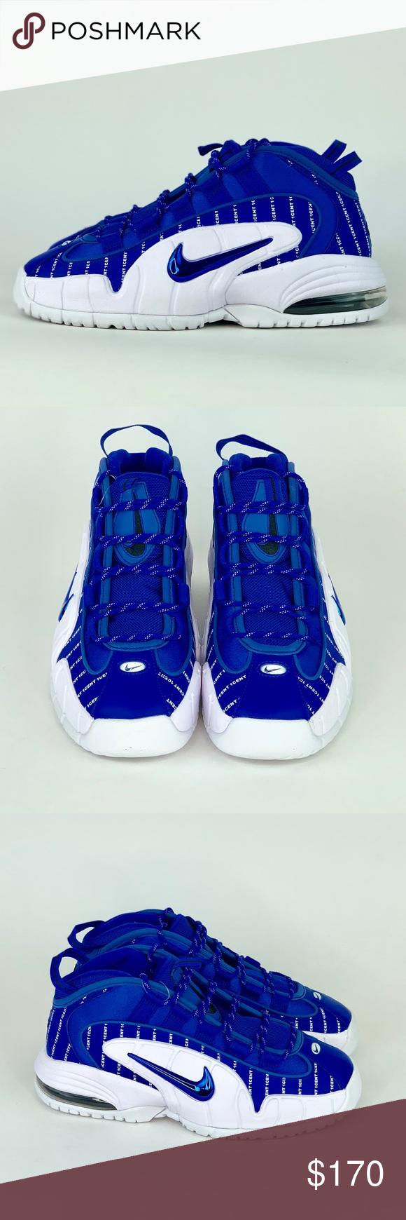 Nike Air Max Penny 1 'Pinstripe' Sz 7 Brand New Nike Air Max