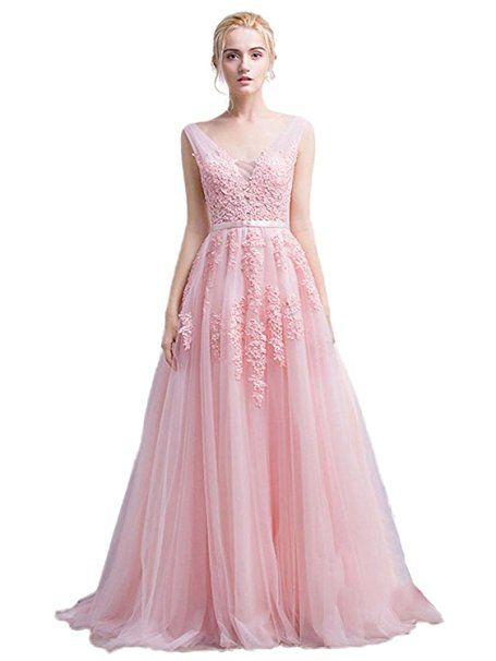 Long Semi Formal Dress Princess Juniors Wedding Party Dress with ...