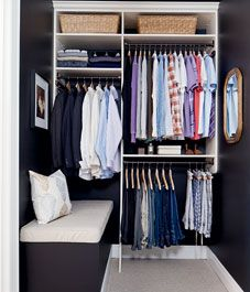 Awesome Before And After: Walk In Closet Makeover