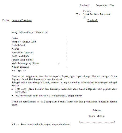 Contoh Kalimat Penutup Surat Balasan Lamaran Pekerjaan Surat Pendidikan Tanggal