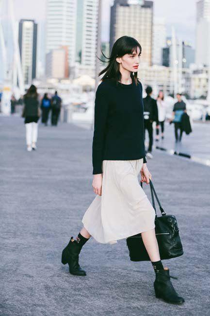 Street Style: Low-Key Cool @ NZFW | Fashion Magazine | News. Fashion. Beauty. Music. | oystermag.com