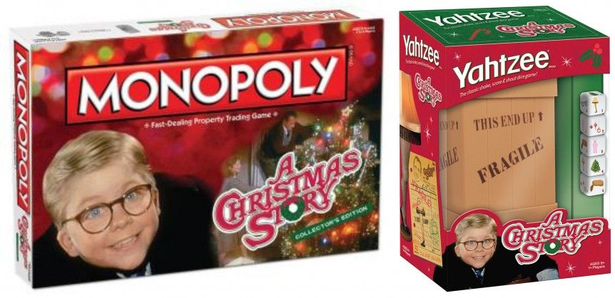 A christmas story monopoly and yahtzee board games review