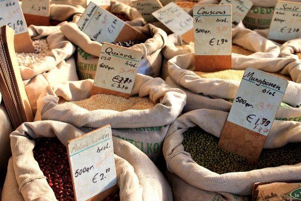 Boeren markt in Den Haag