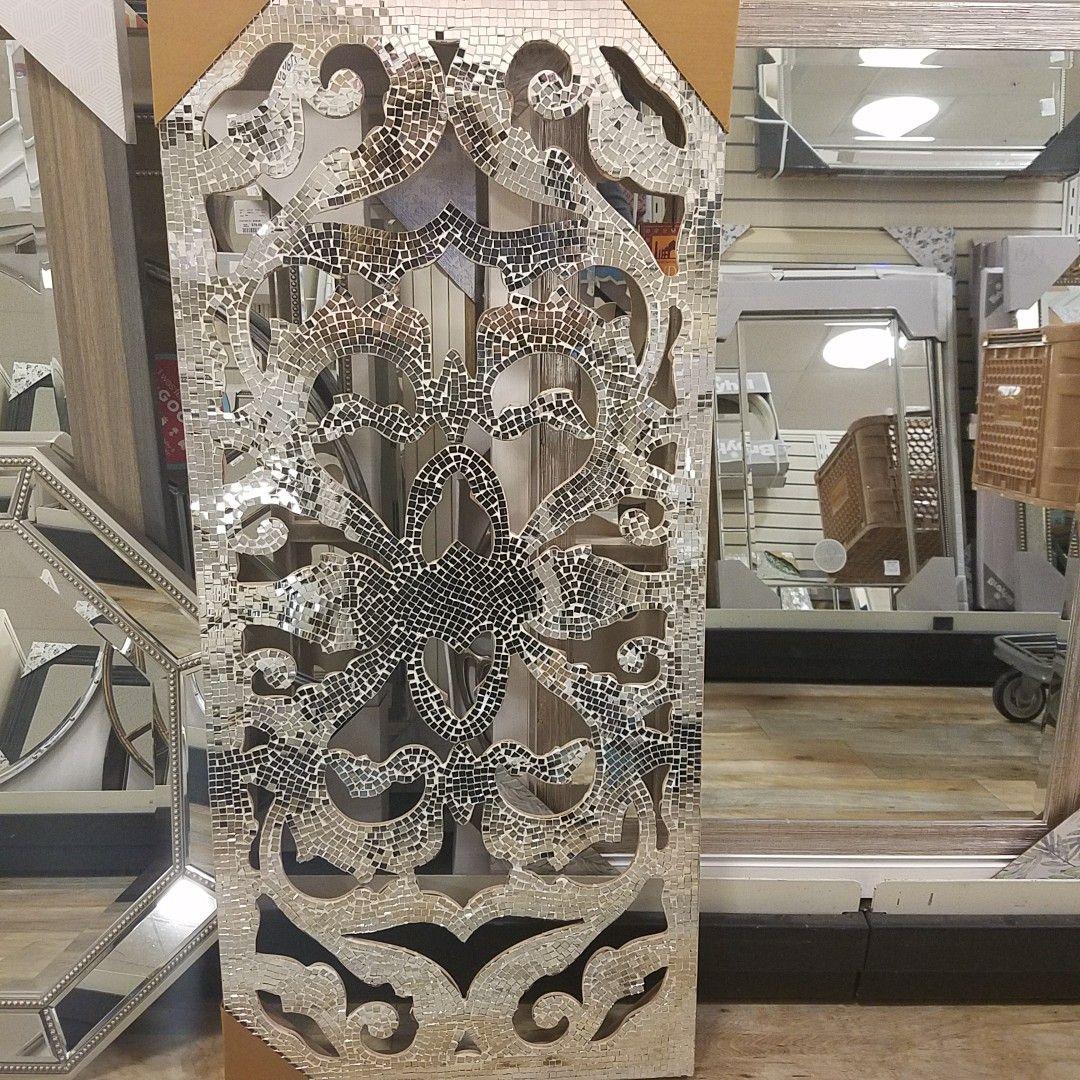 Mosaic Mirror Homegoods Homegoodshappy Mosaicwallart Mirroreddecor Livingroomdecor Beautiful Homedesign Mirrored Furniture Living Room Decor Home Decor