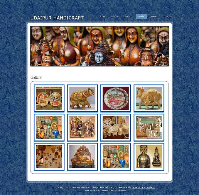 4 Handicrafts Websites Handicraft Website Design Dimira Infotech
