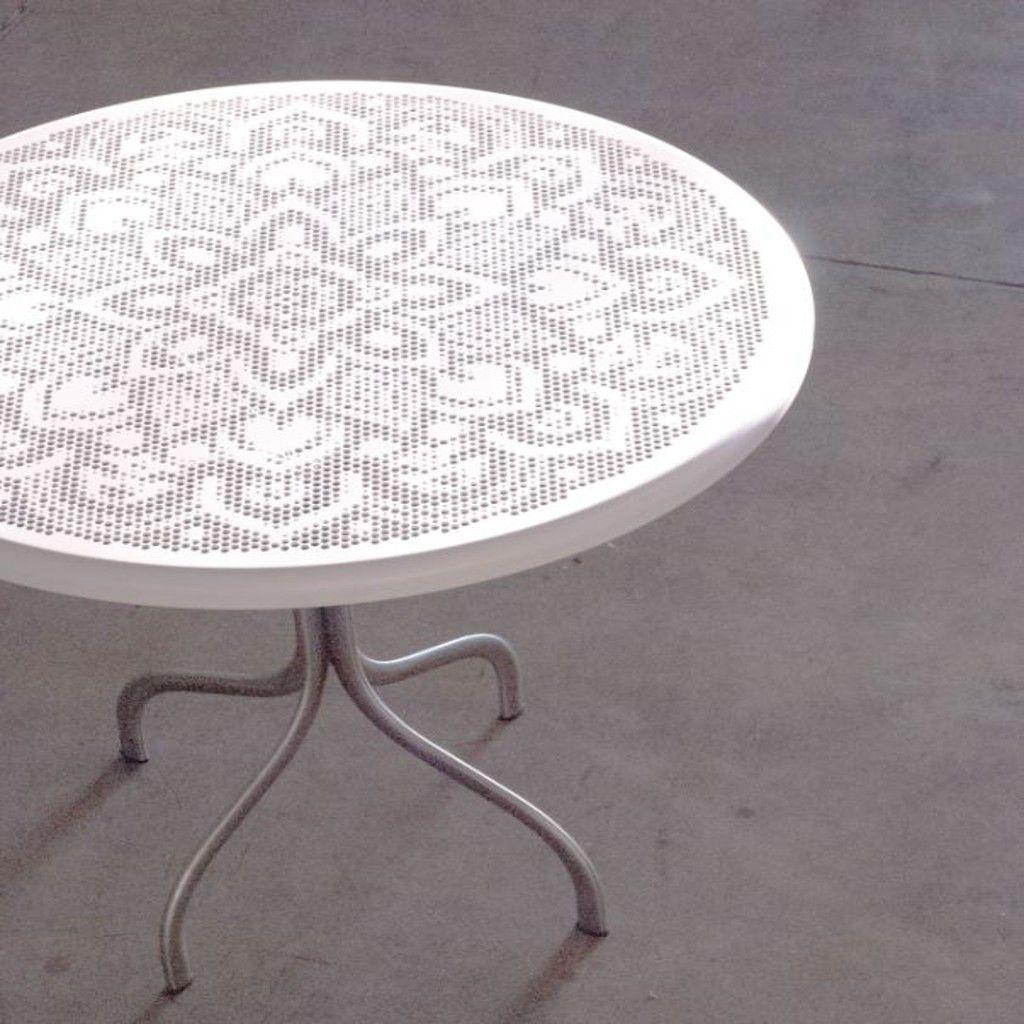 Tavolo rotondo JOIN 70 in acciaio, Medes Metal Design | Articoli ...