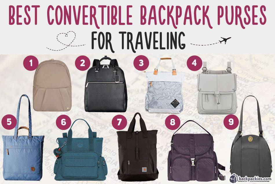 6ba06130ddf4 9 Travel Backpack Purses You Need For Your Next Trip   Computer ...