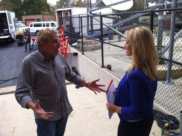 Behind the scenes of #Reckless with Live 5 News #Charleston
