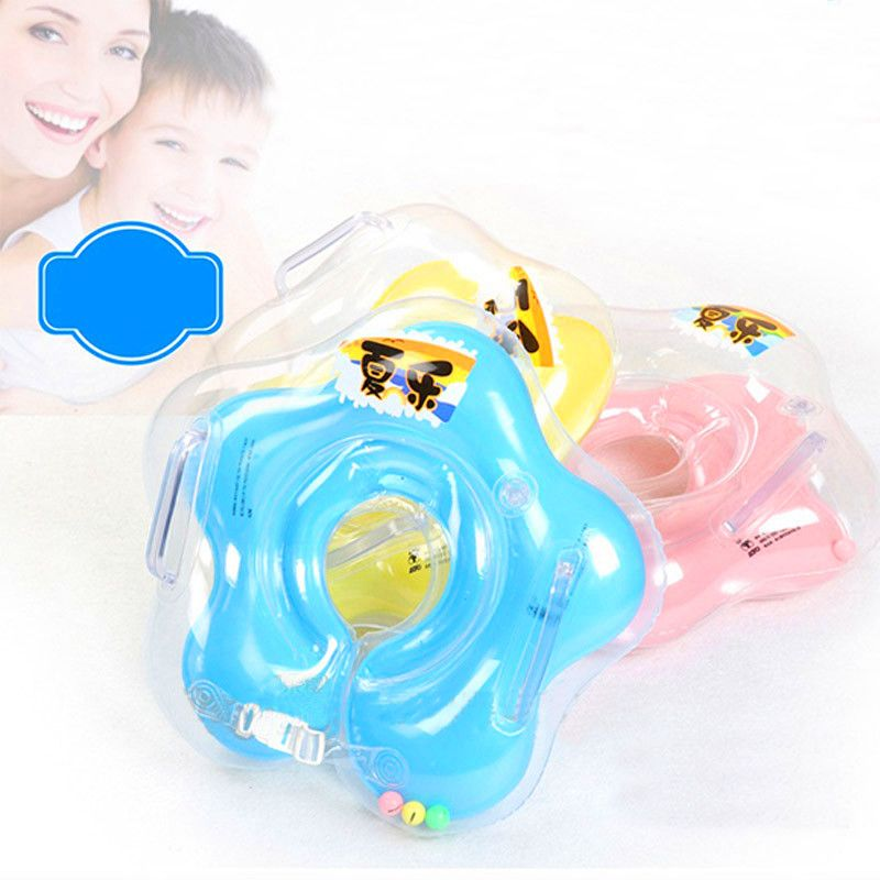 HOT Safety infant neck ring float circle for bathing Inflatable ...