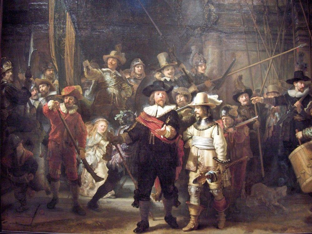 La Ronda De Noche Rembrandt Pinturas De Rembrandt Artistas