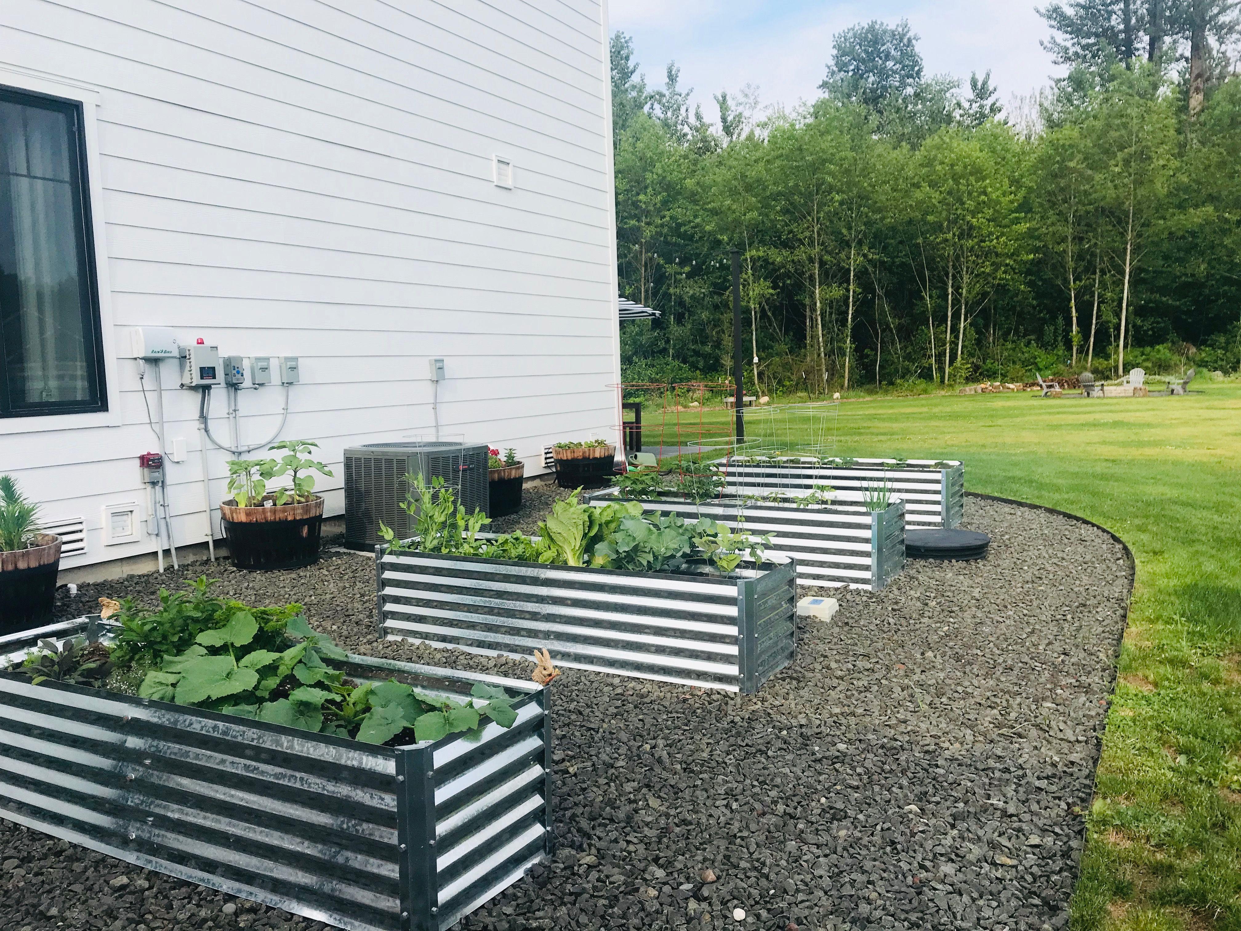 Galvanized Planter Garden Raised Planter Vegetable 640 x 480
