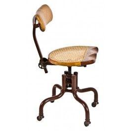 Magnificent C 1940S Vintage Industrial Switchboard Operator Tubular Lamtechconsult Wood Chair Design Ideas Lamtechconsultcom
