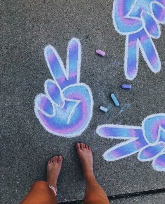 15 Creative Chalk Ideas for Kids - Passion For Savings