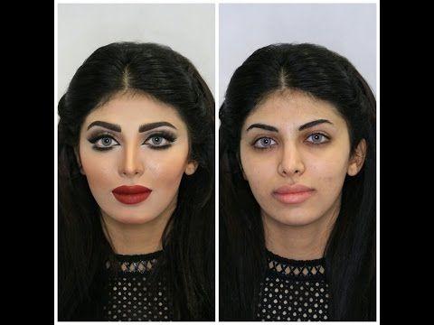 مكياج خبيره التجميل الكويتيه ناديه الشطي لعروس ٢٠١٧ Youtube Makeup Studio Make Up Makeup