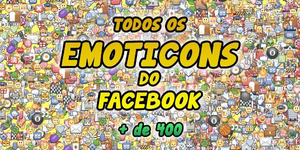 Emoticons Secretos do Facebook Thiro SIlva Amador