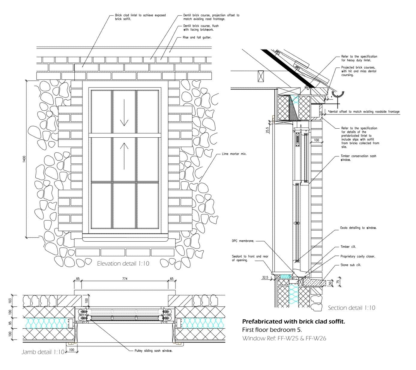1387 1234 flint pinterest detailed drawings for Section window design