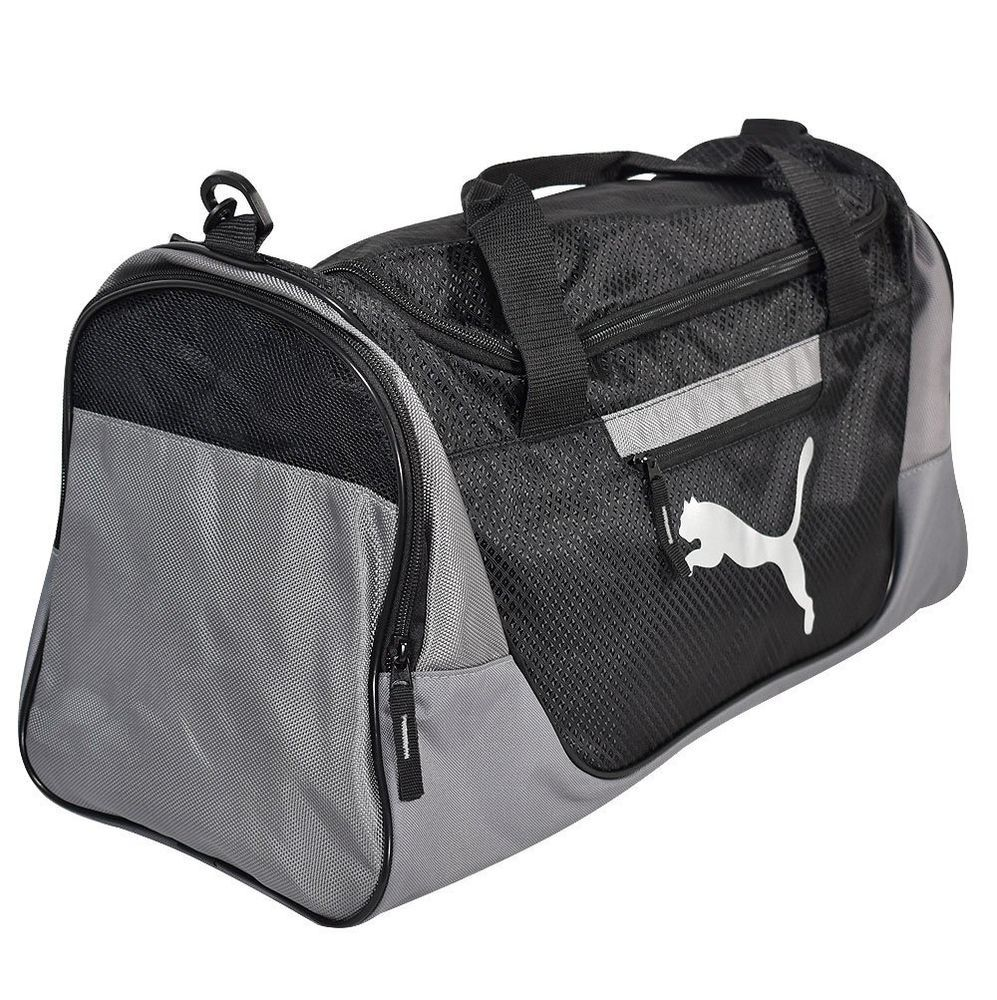 New Puma- Evercat Contender 3.0 Duffel Bag Gray/Black #Puma  #ShirtsTopsSweaters