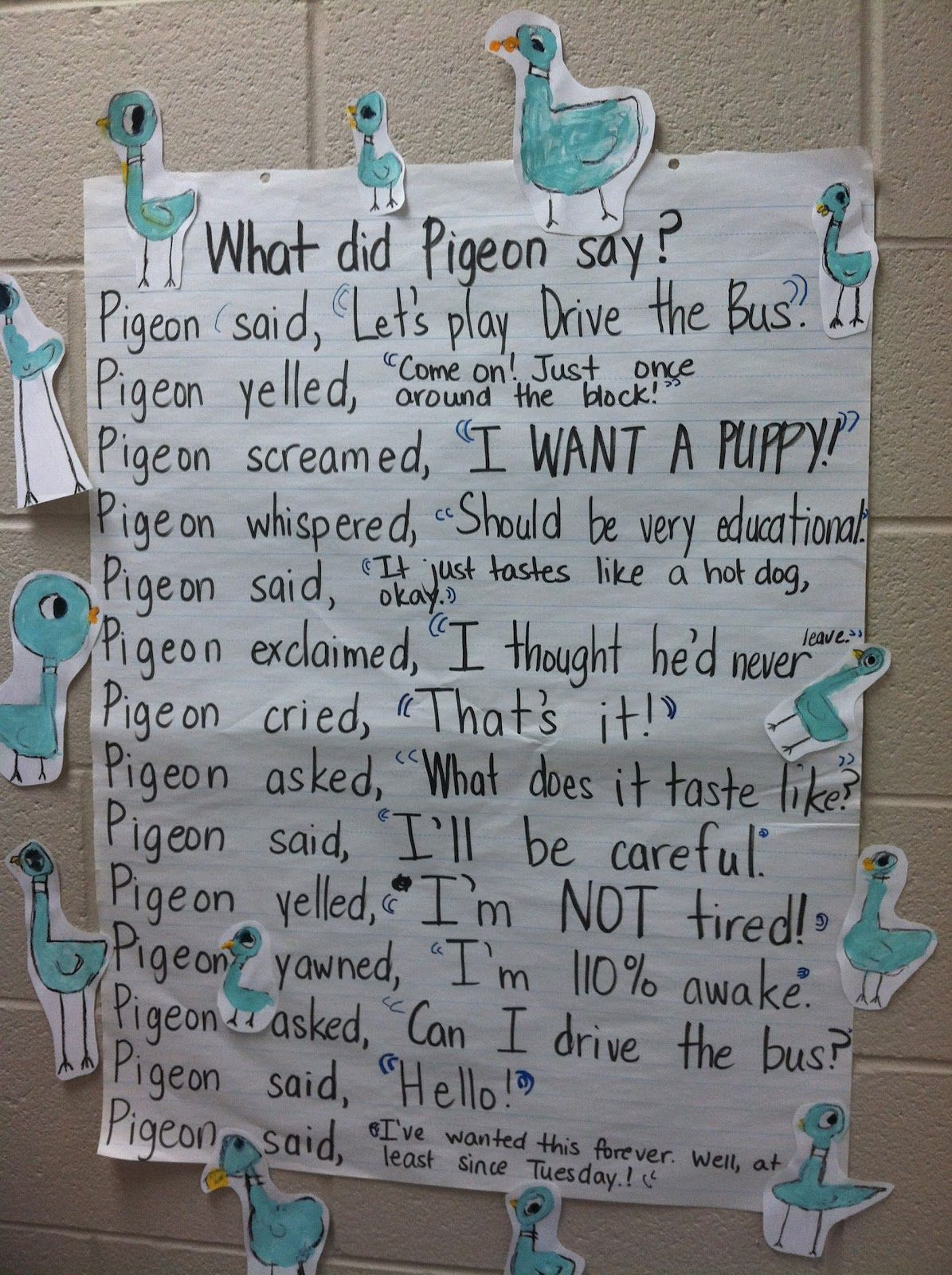 Pigeon Quotation Marks This Can Easily Be Aligned To The