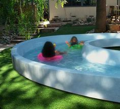 Diy Lazy River Google Search Backyard Lazy River Hot Tub Backyard Backyard Pool