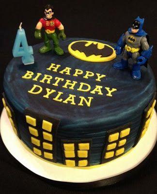 Batman And Robin Birthday Cakes Pictures Batman Birthday Cakes