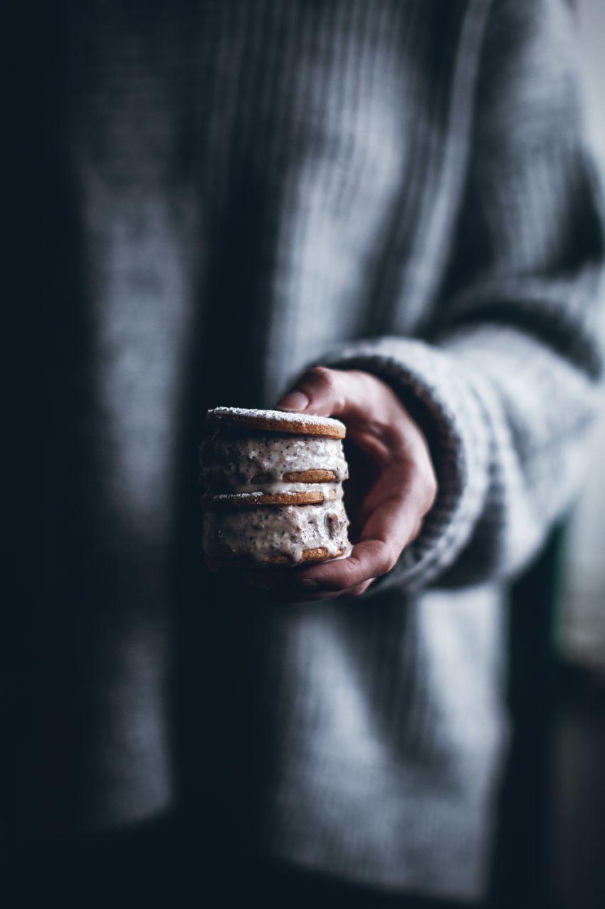 Semla ice cream sandwiches