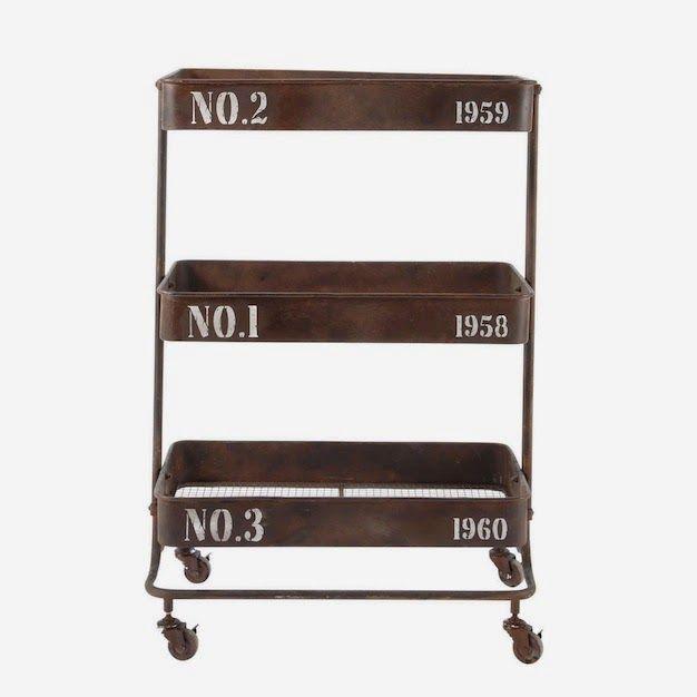 Distress An Ikea Cart A Great Industrial Diy Idea Industrial Livingroom Diy Apartments Industrial House