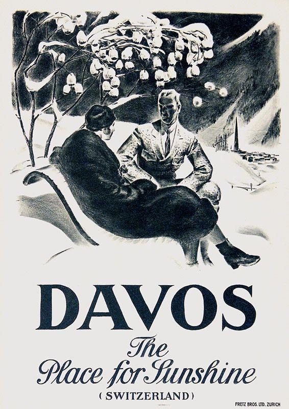 Carl Moos, Davos
