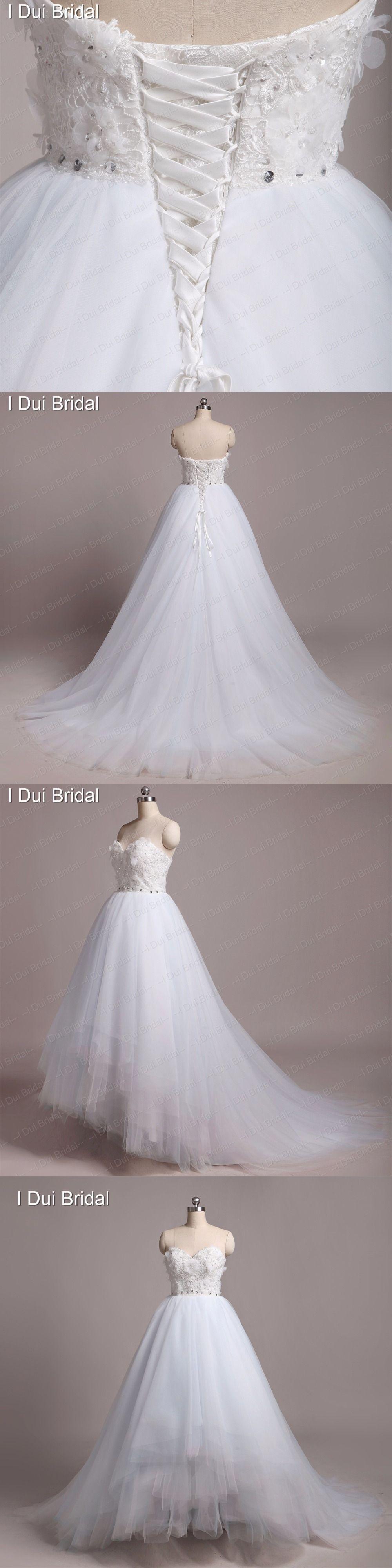 Light blue wedding dresses custom make high quality strapless