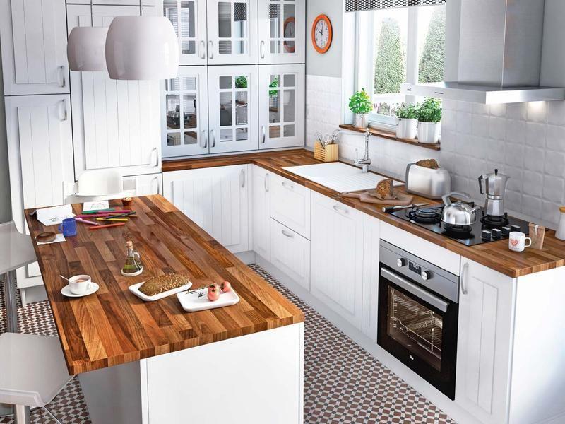 Pin de cristina cirbian en casa pinterest cocinas con for Ver cocinas americanas