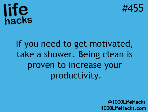 This just seemed good to post. My mom has said something like this recently...Trying to take a shower every other day (at least) to help my hair grow for my wedding...But this would probably help tons too! ^_^