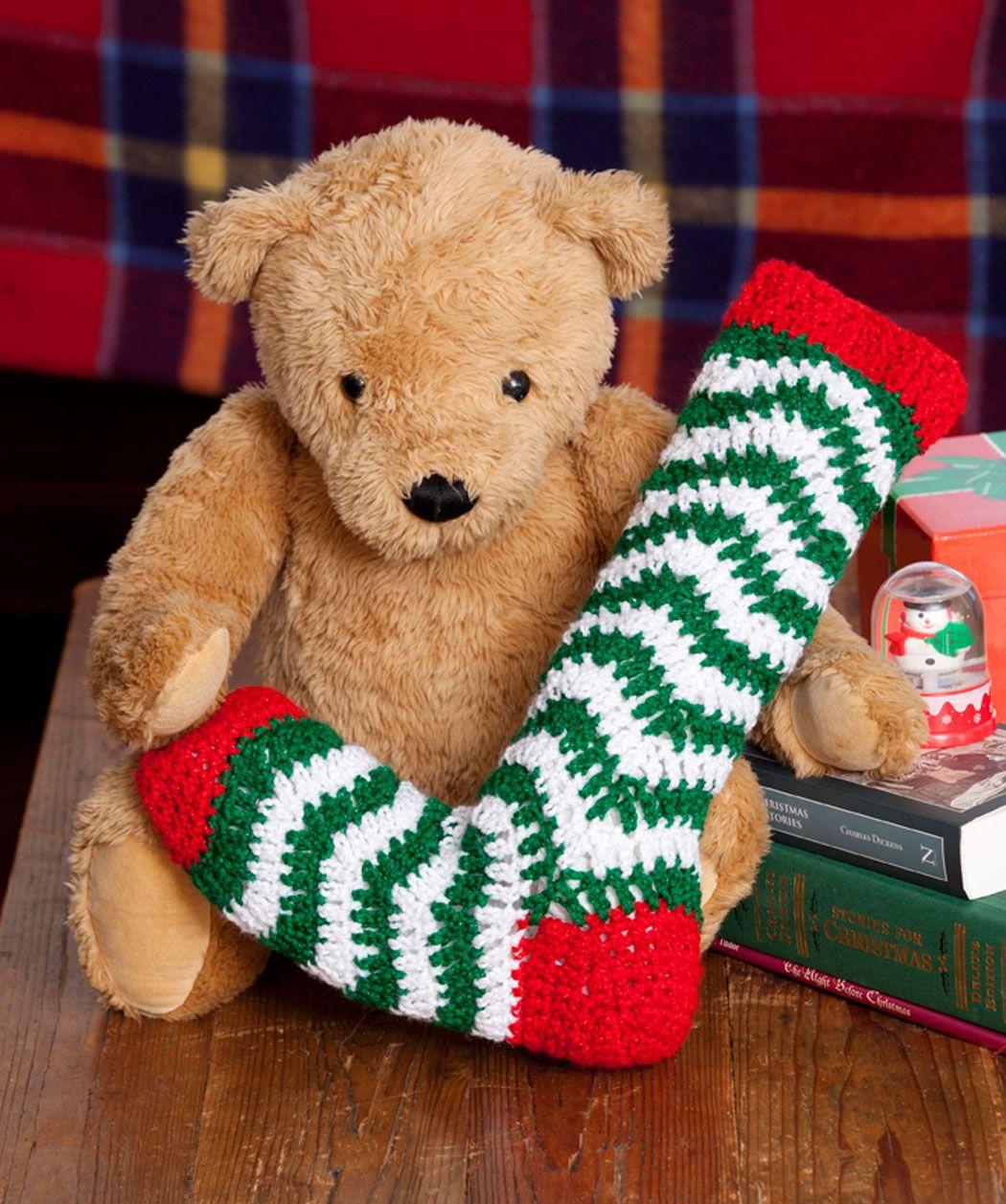 Weihnachtsstrumpf | Häkeln | Pinterest | Weihnachtsstrumpf und Häkeln